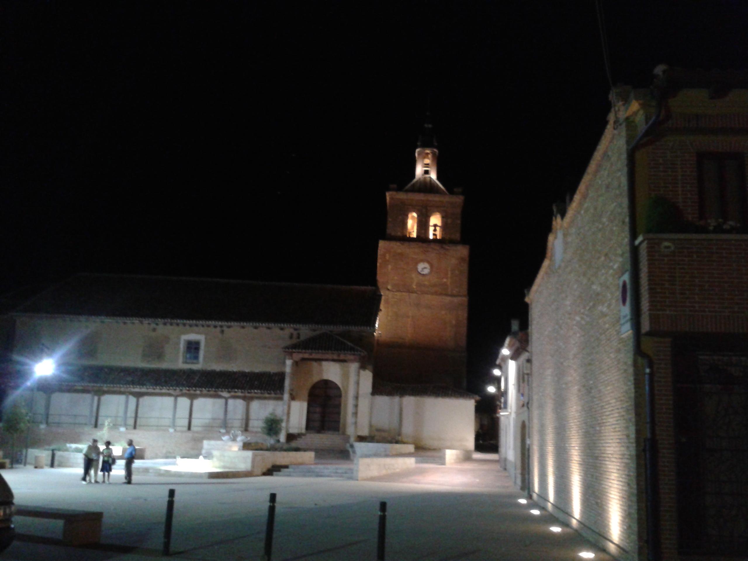 Nueva iluminación de la Iglesia de San Facundo y San Primitivo