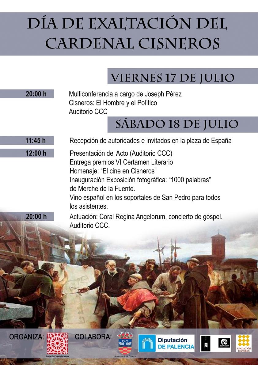Día de Exaltación del Cardenal Cisneros