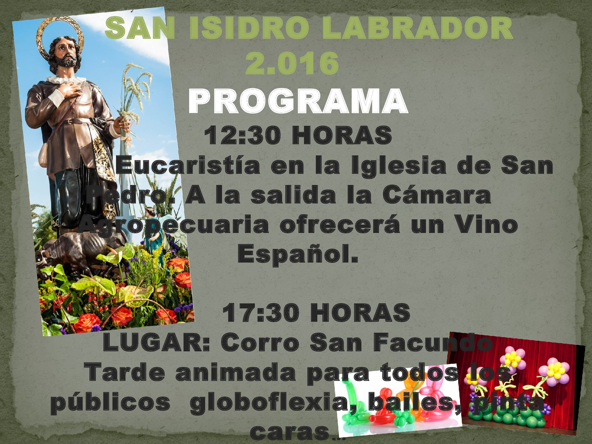 SAN ISIDRO LABRADOR 2.016