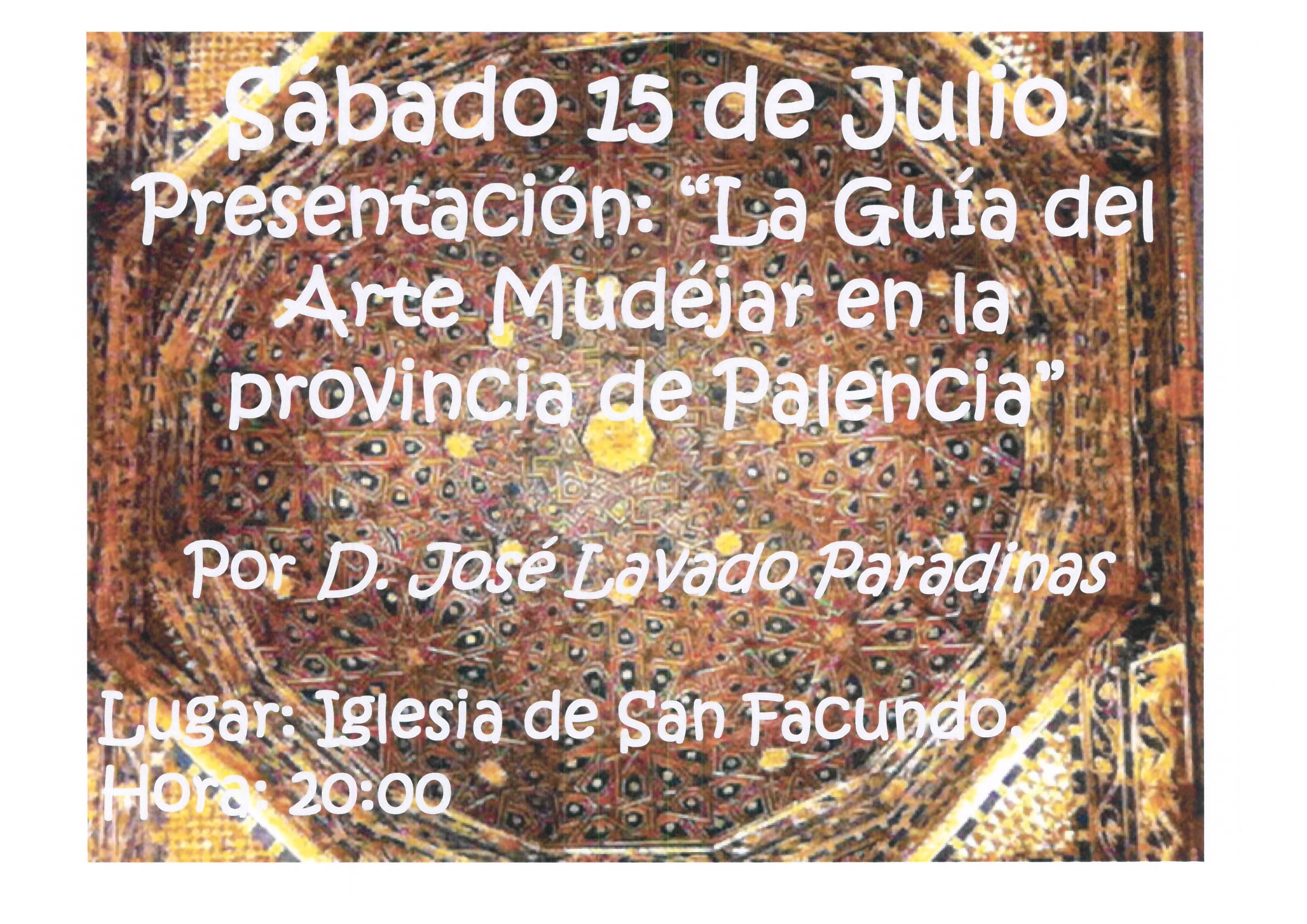 VERANO CULTURAL ( FIN DE SEMANA 14 y 15 de Julio)