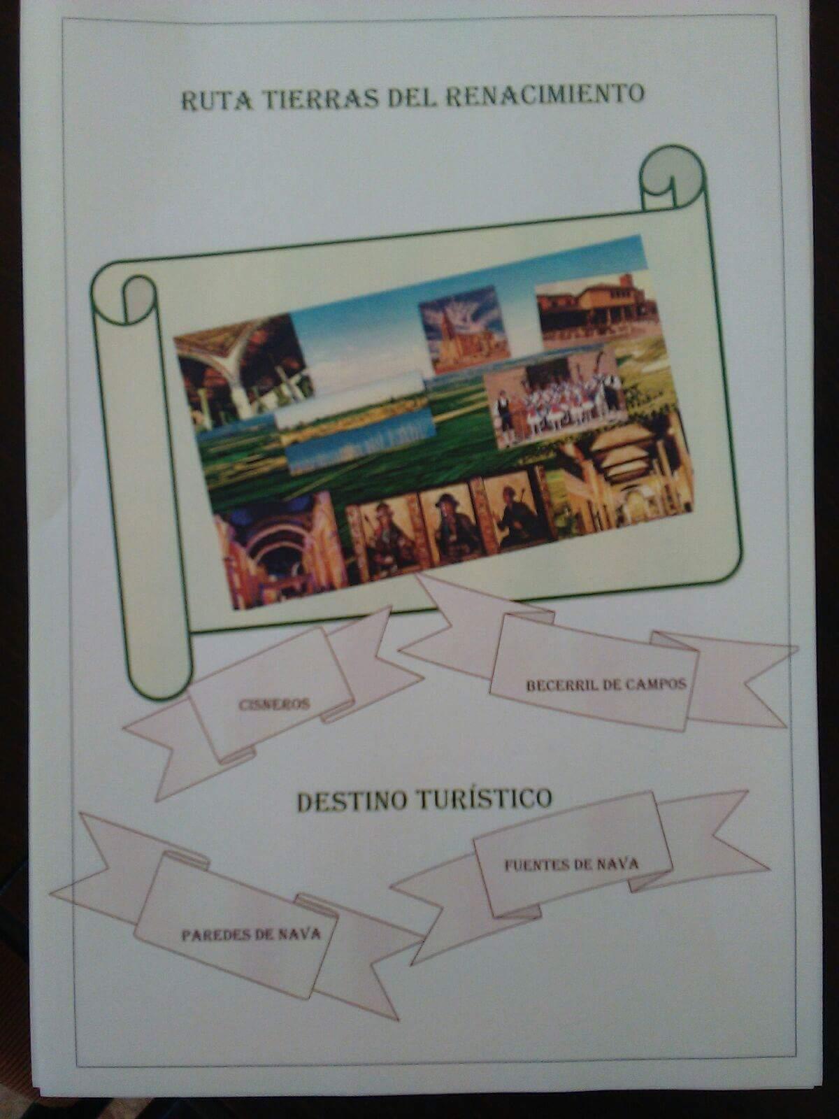 """DIPLOMA """"PROMOCIÓN TURÍSTICA AL CONSORCIO TIERRAS DEL RENACIMIENTO"""