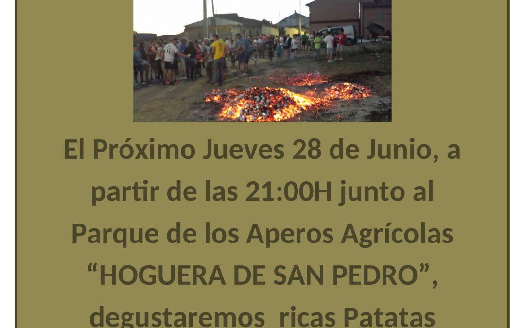 TRADICIONAL HOGUERA DE SAN PEDRO
