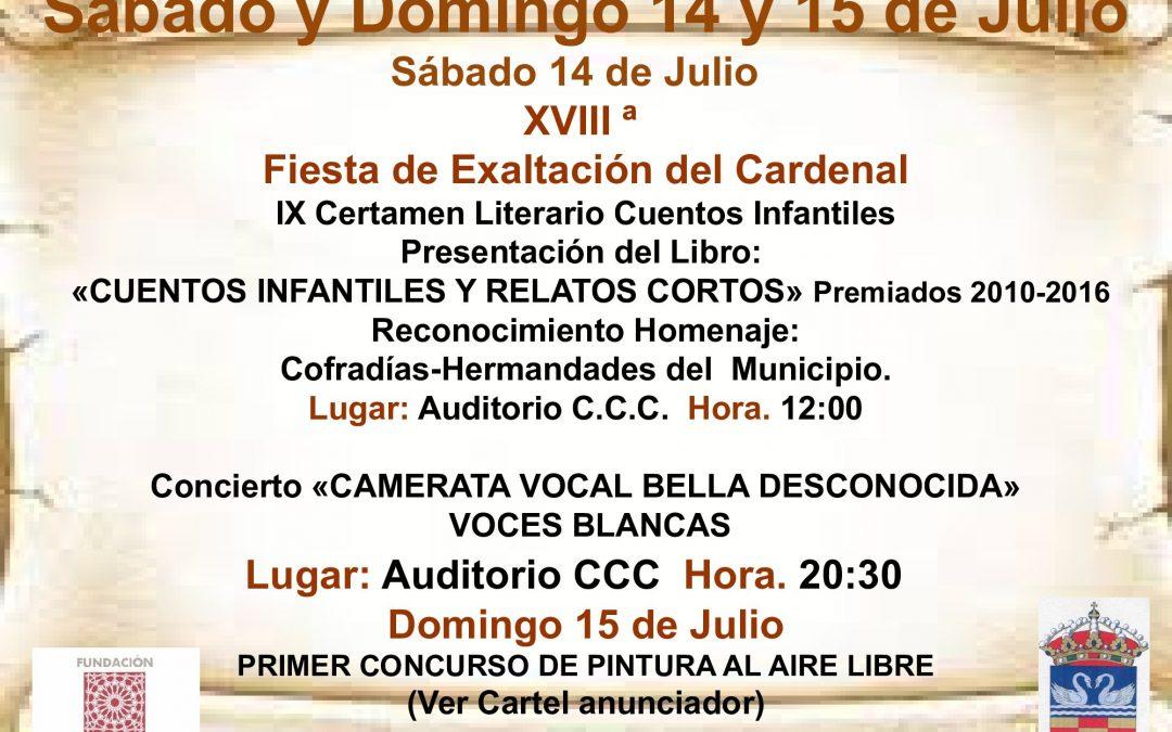 XVIII FIESTA DE EXALTACIÓN DEL CARDENAL